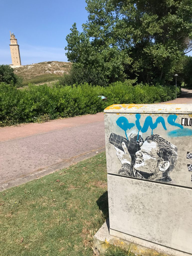 arte urbano, ErrE, Galicia