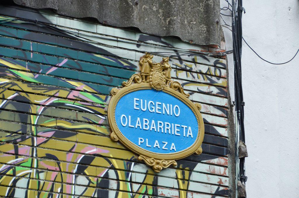 Arte urbano en Bilbao