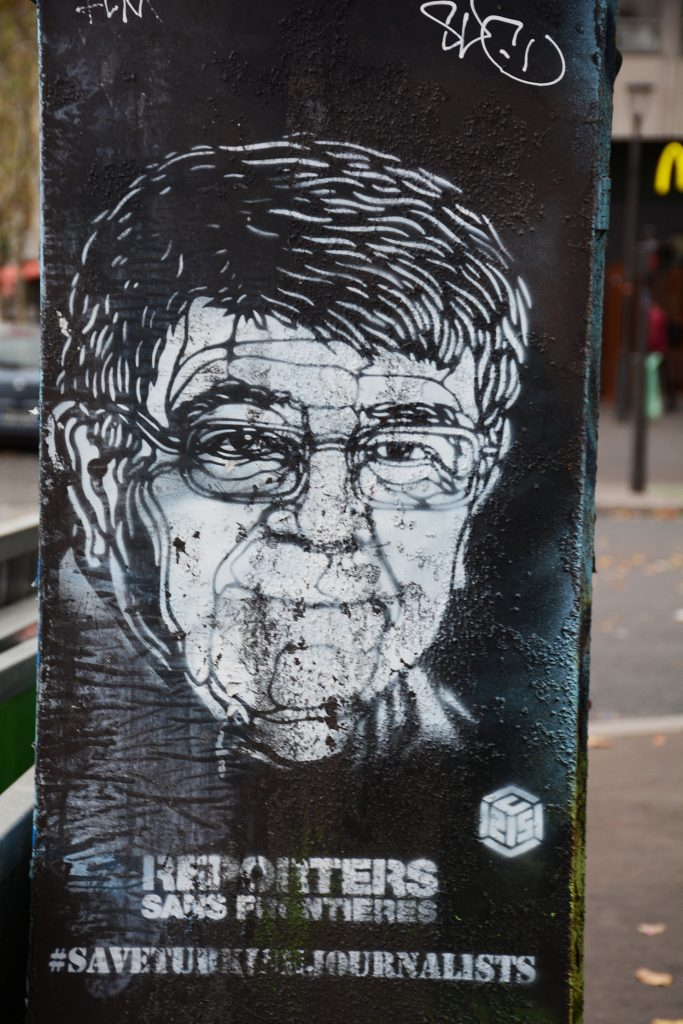 C215 arte urbano en París Francia