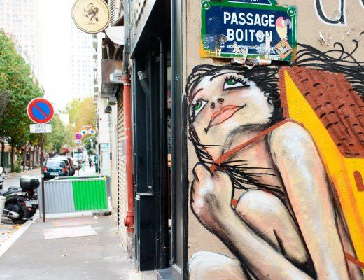 Arte urbano de Veracidade en París
