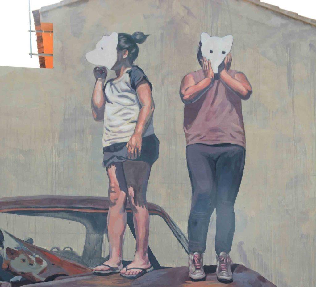 Arte Urbano, Milu Correch, fanzara, Valencia