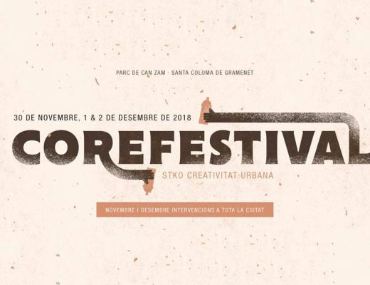 Arte urbano Core Festival Barcelona