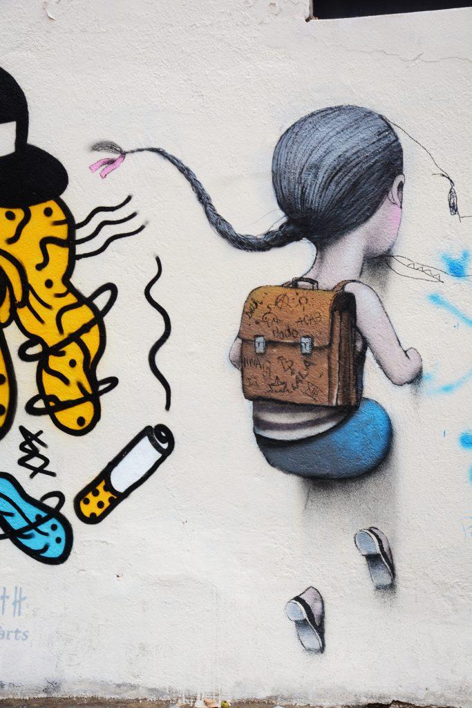 Arte urbano Seth Paris, Francia