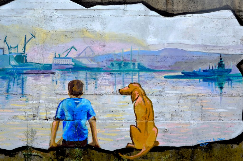 Arte urbano de Irantzu Lekue, Bilbao