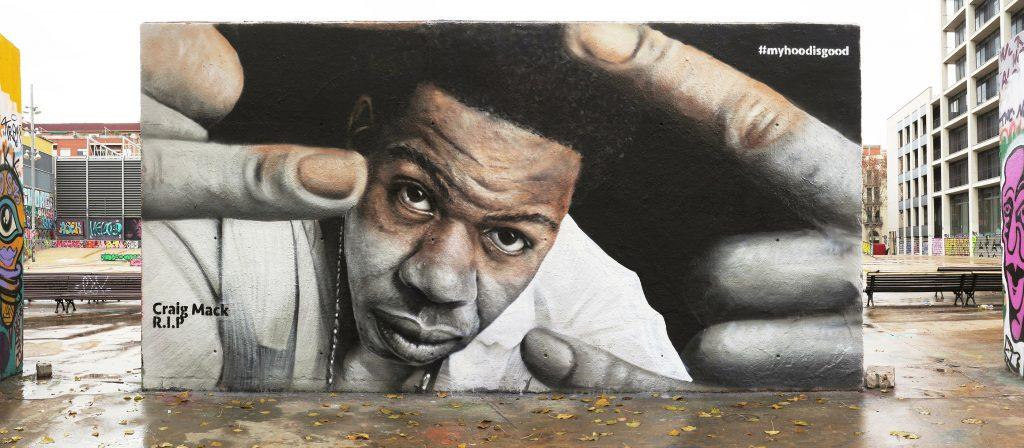 Hoodgraff, arte urbano en Barcelona