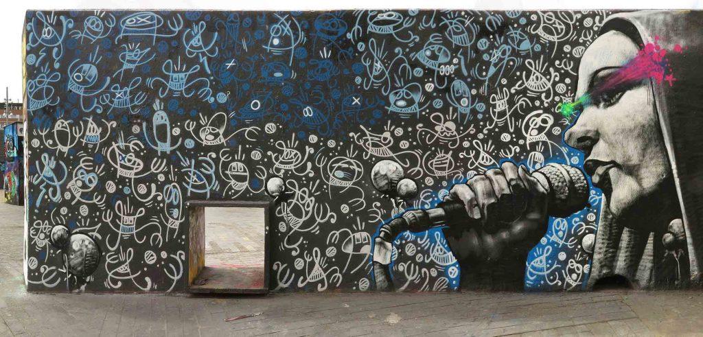 arte urbano barcelona Owen Dire Soklak
