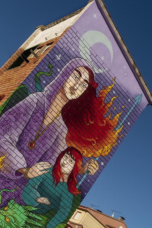 Arte urbano, Maga en Camarasa – Lleida