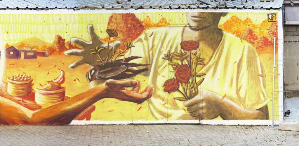 Arnau Gallery, Giova, JOTAPē, arte urbano