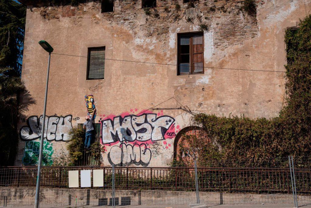 arte urbano Seta Barcelona