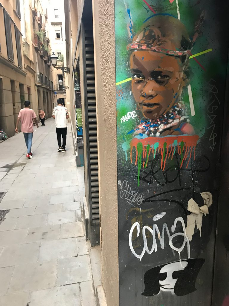 Pasteup Barcelona, Colp One