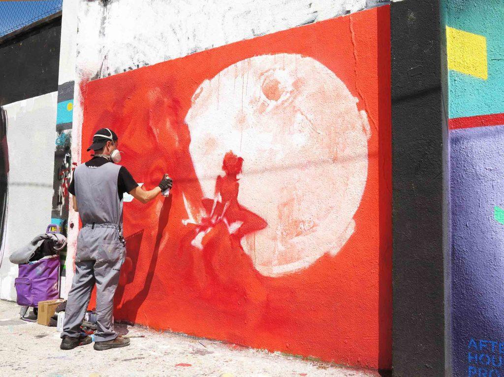 Arte urbano REB - Barcelona