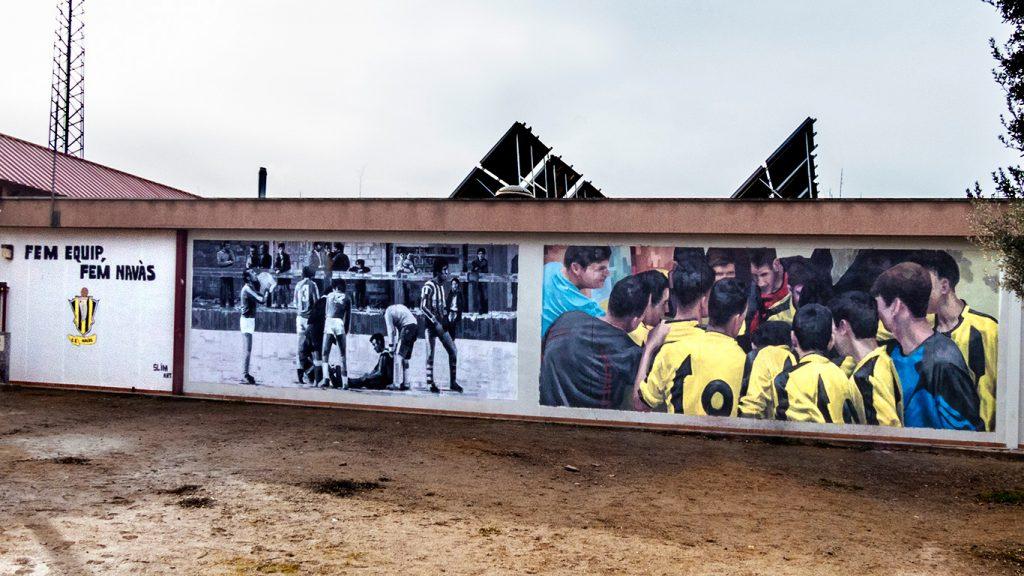 arte urbano en Navas, Barcelona