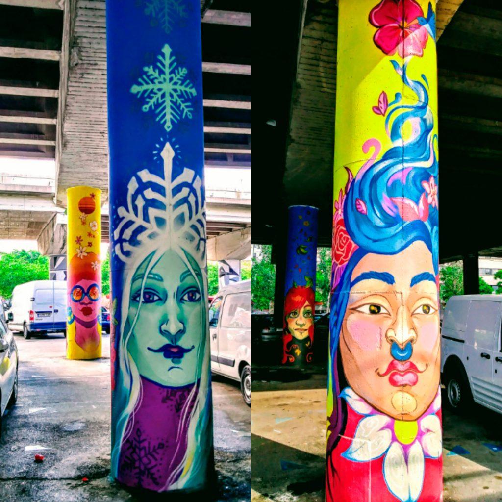 Arte urbano El Bosc Encantat