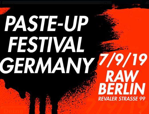 Arte urbano Paste Up Festival Germany