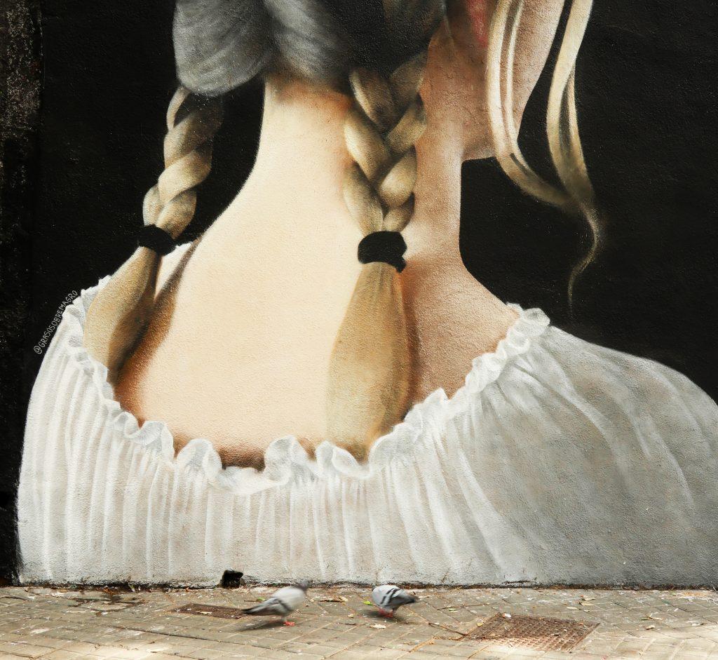 Arte urbano de Javier Barriga en Barcelona