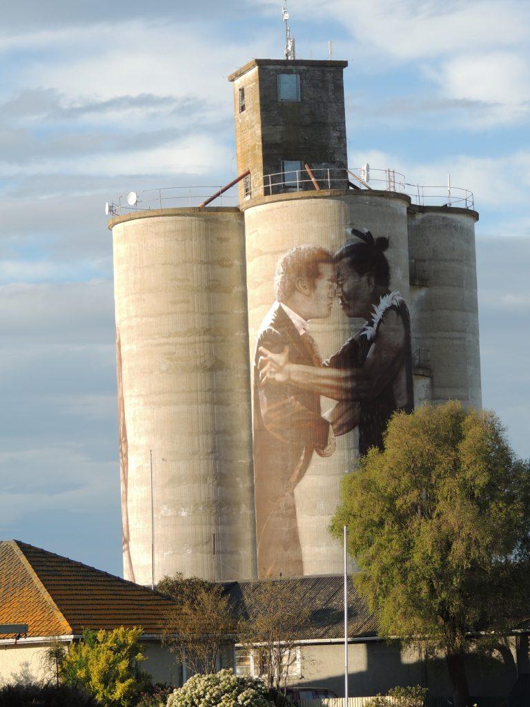 Arte urbano en New Zealand, Bill Scott