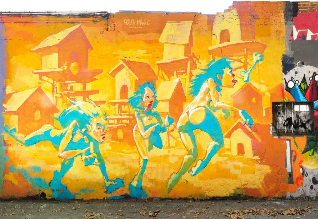 arte urbano exposicion Reb