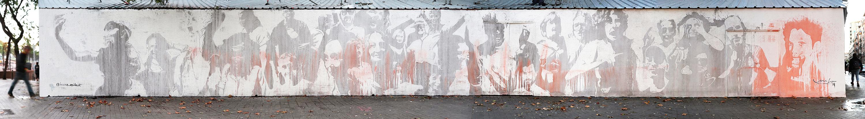 Arte urbano de Lucas Milà en Barcelona