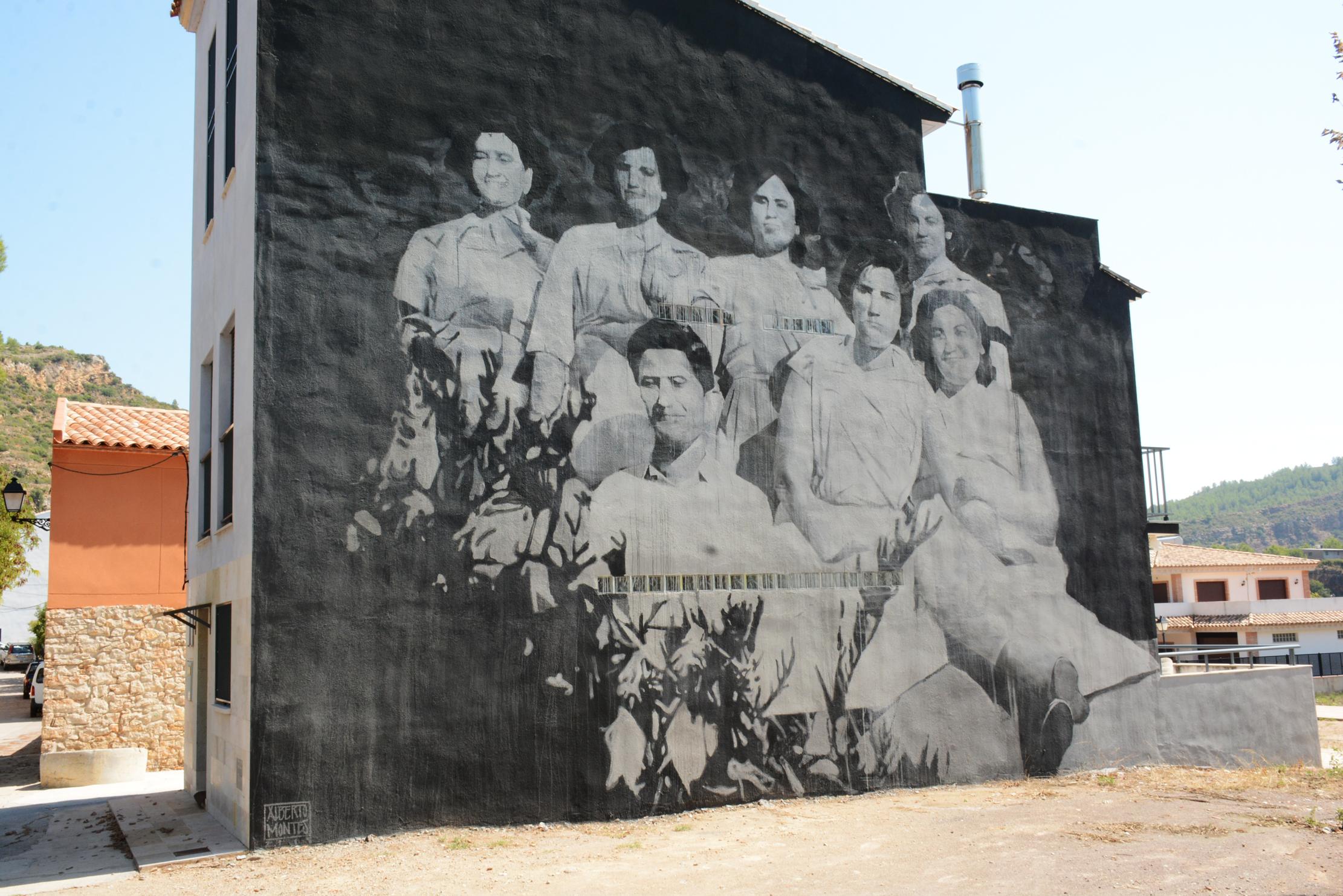 Arte Urbano en Fanzara de Alberto Montes
