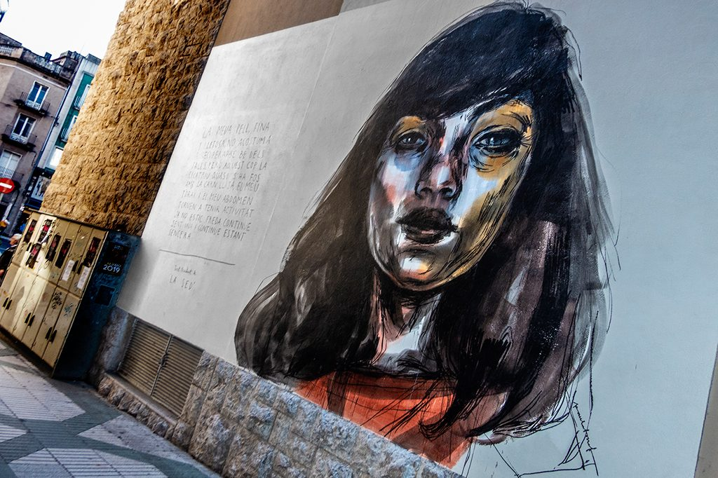 Arte urbano Paula Bonet Figueres