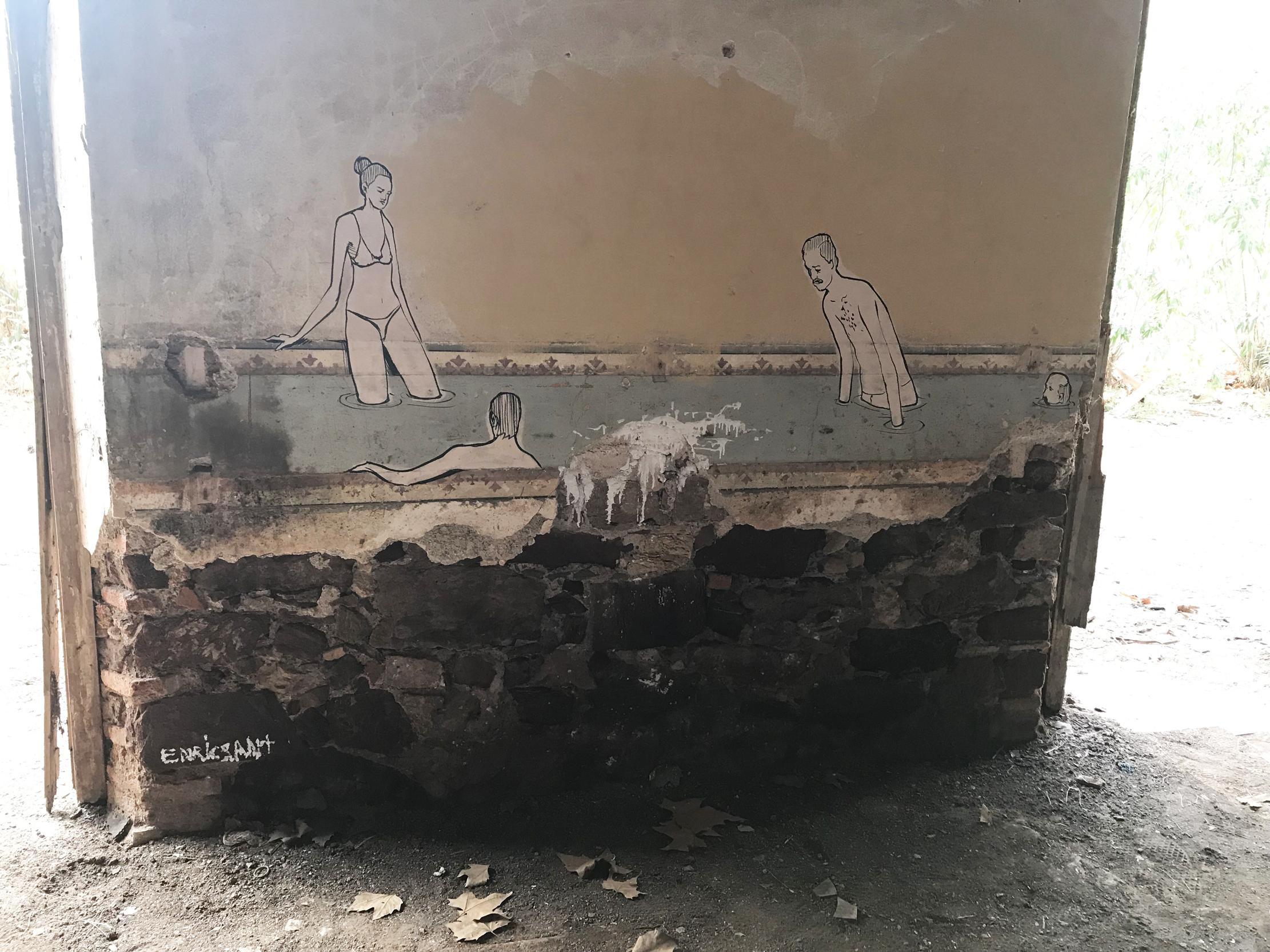 Arte urbano de Enric Sant