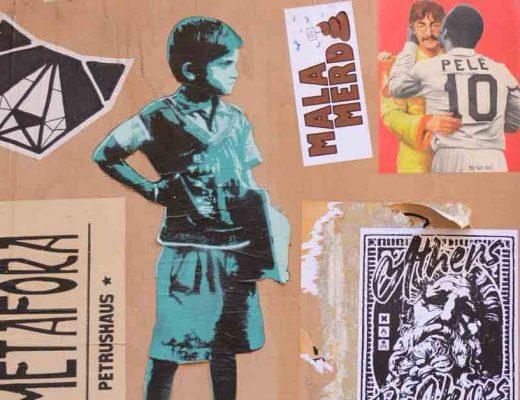 arte urbano paste up valencia