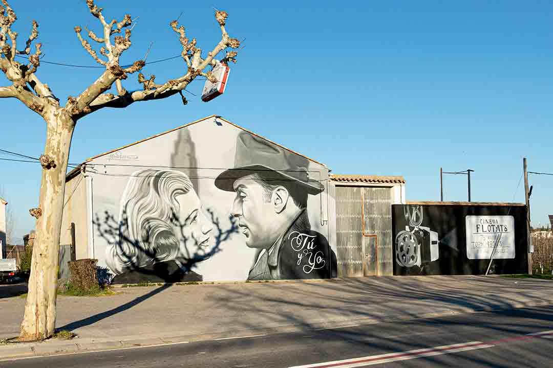 Arte urbano de Mon Davane Lleida