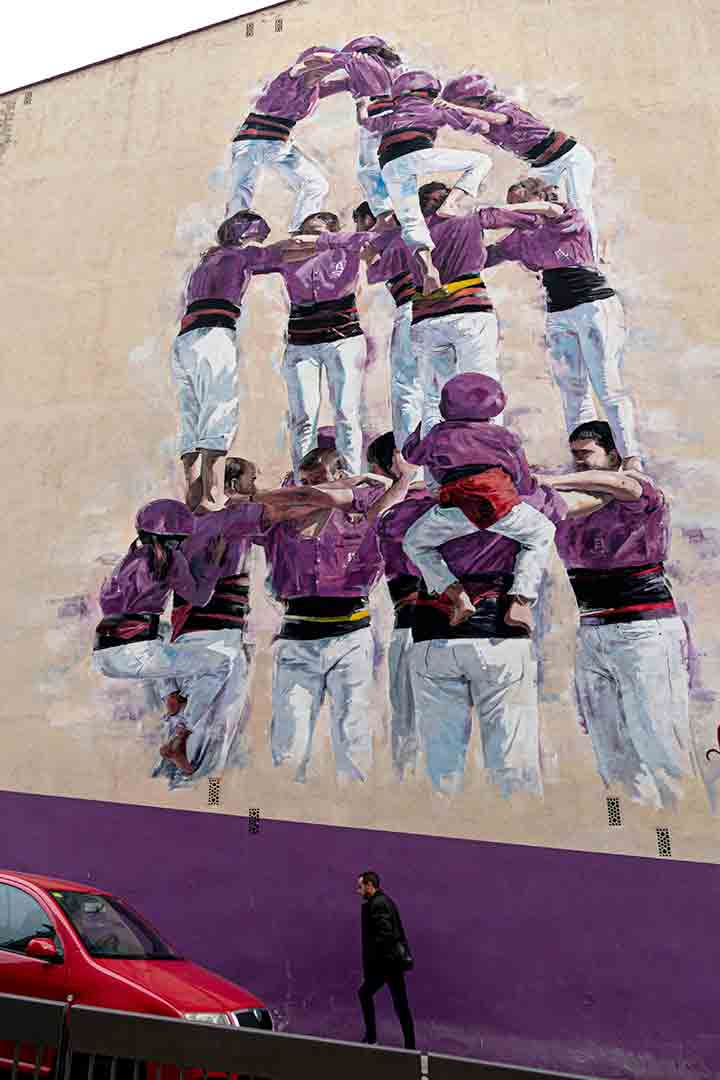 Arte urbano Nuria Riba Bosh, Igualada