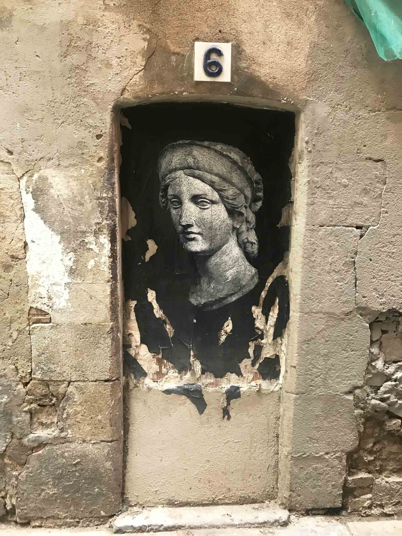 arte urbano Nasti 404 paste up barcelona