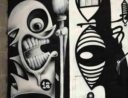 arte urbano konair Noriaki Barcelona