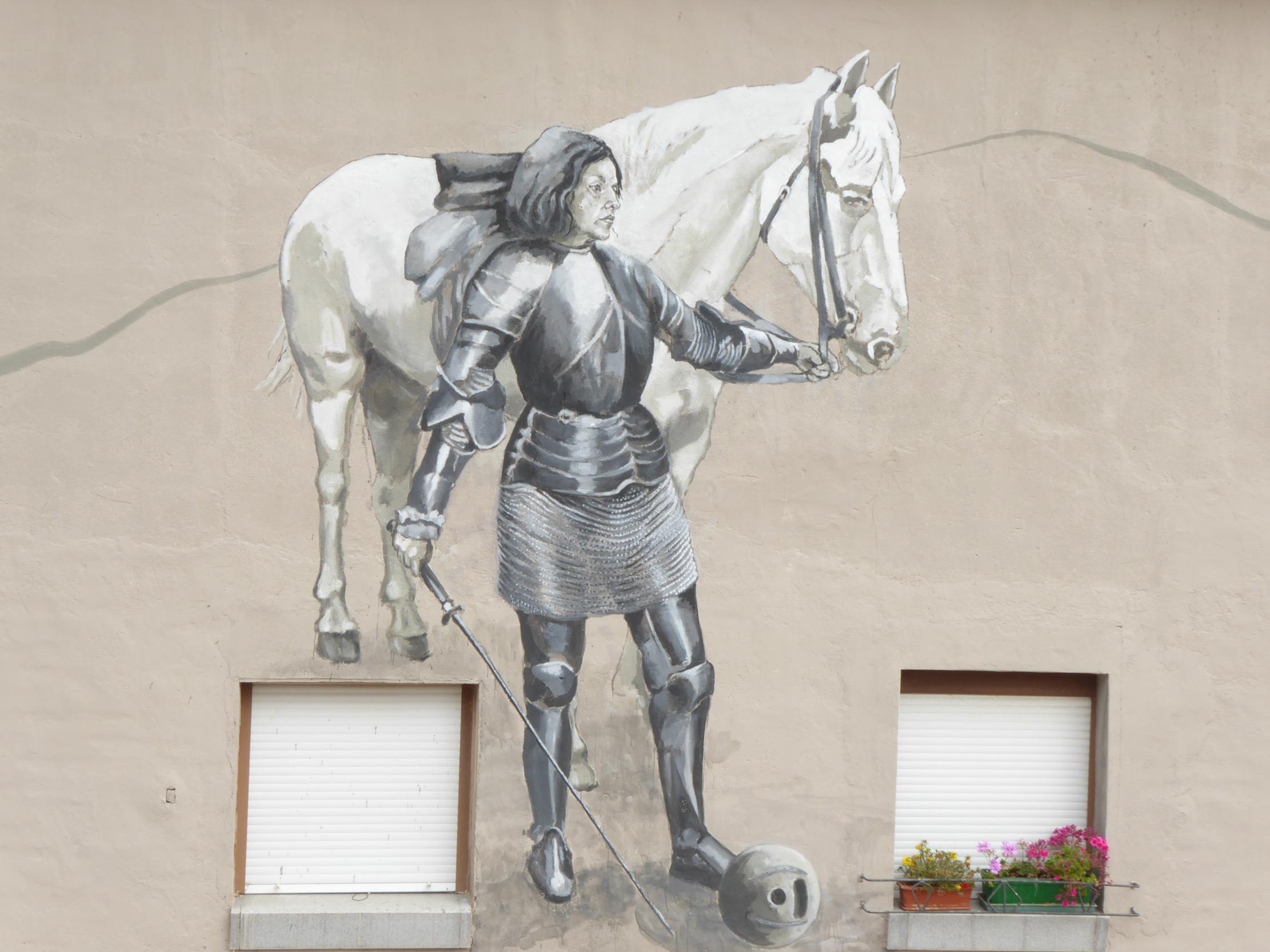 Arte urbano en Belorado