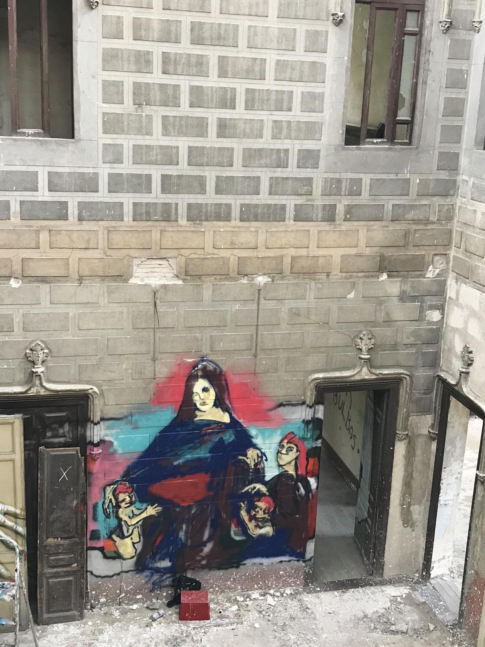 arte urbano Isabel Rabassa muralismo