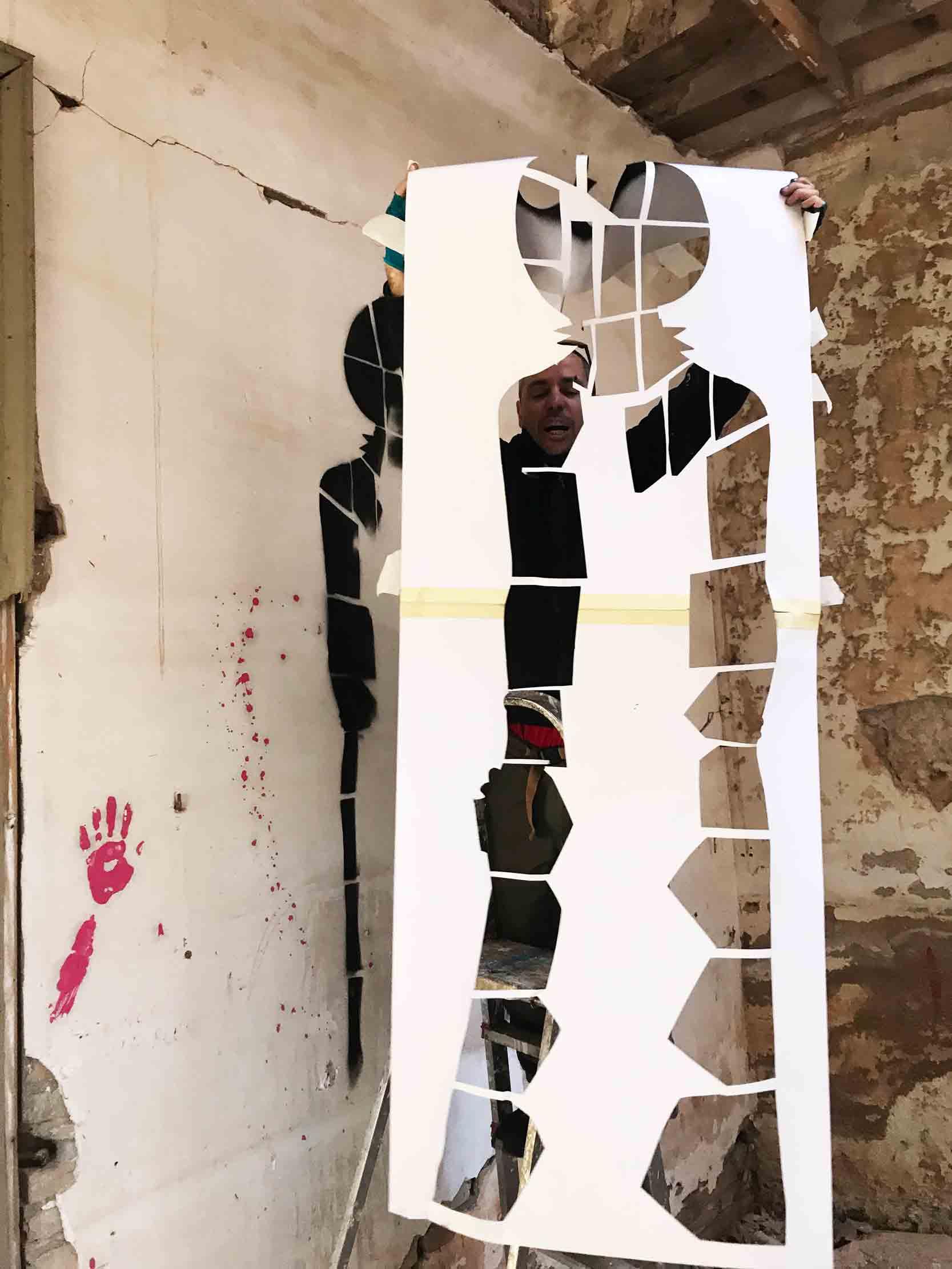 arte urbano sm172 exposición de arte Barcelona