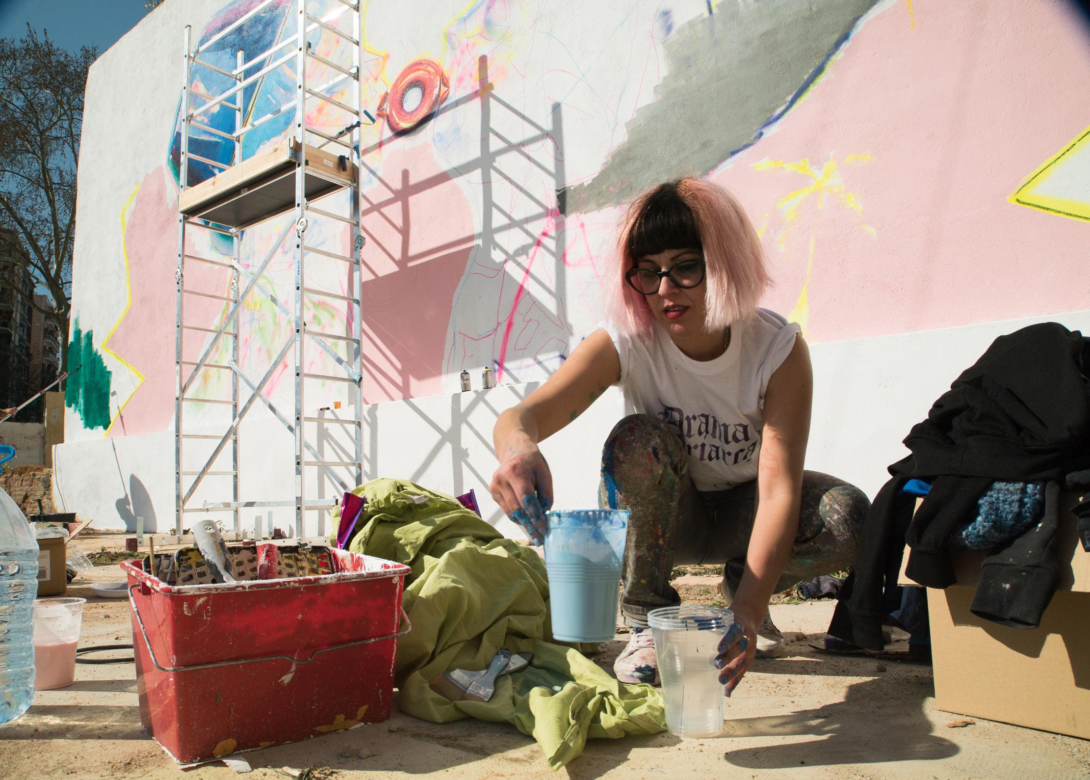 Arte urbano Ana Barriga Barcelona