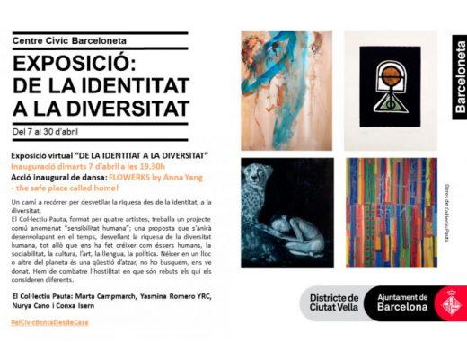 arte urbano exposicion colectiva Barceloneta