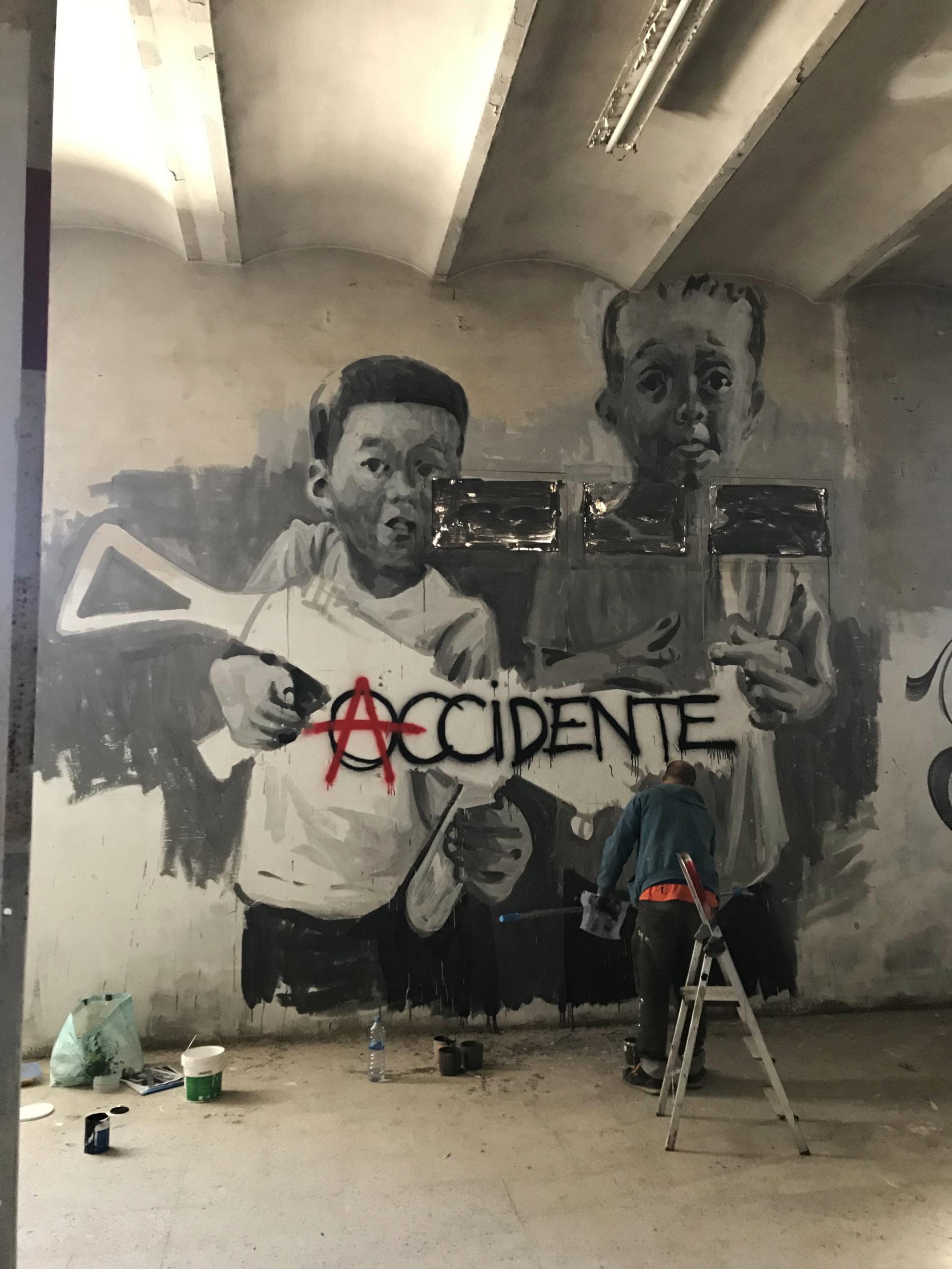 arte urbano ru8icon1 Barcelona