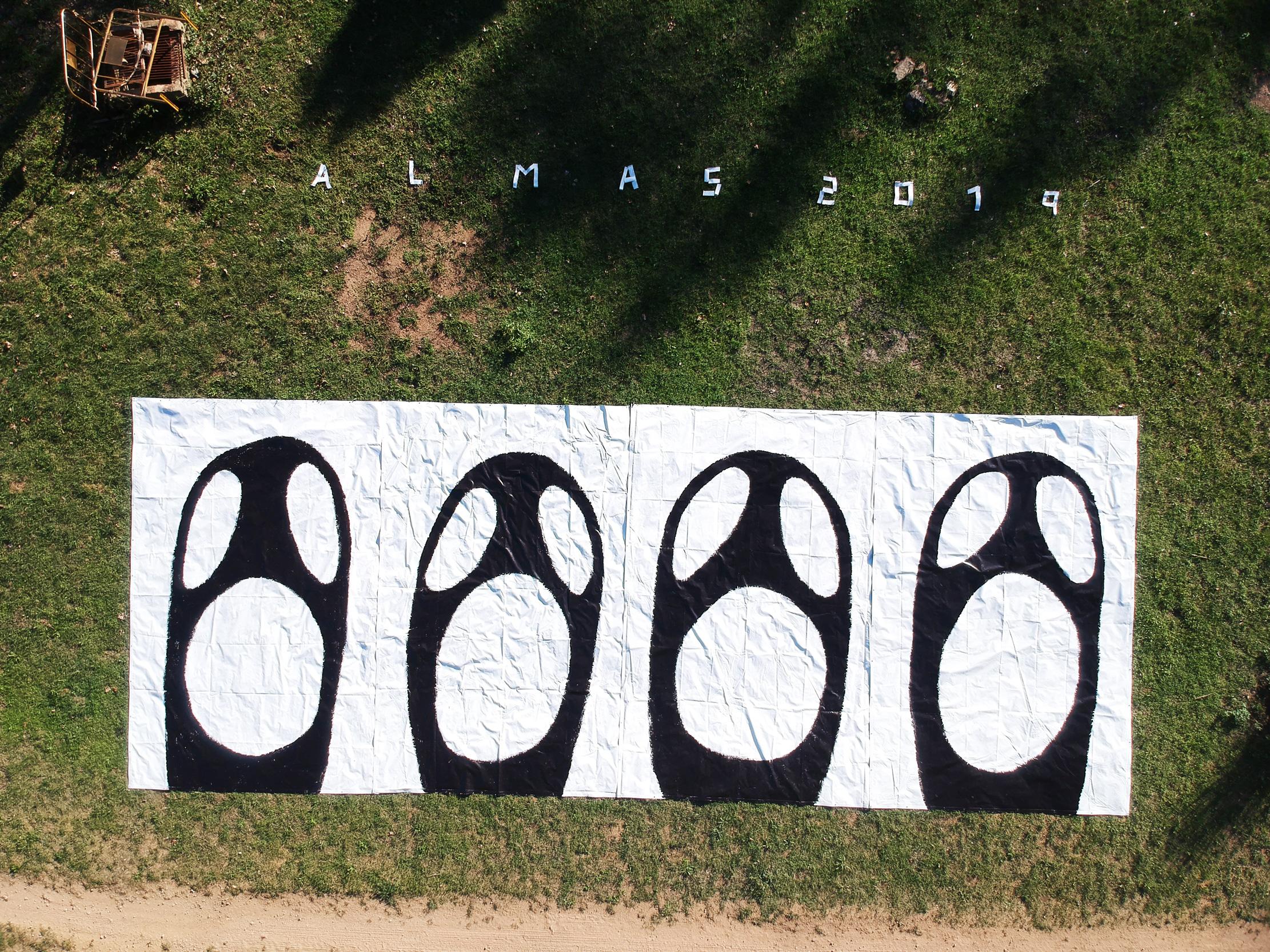 arte urbano almas 172, Barcelona
