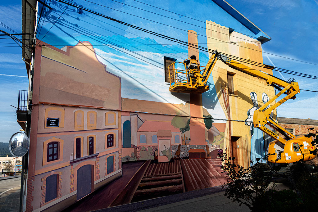 arte urbano Cabrianes Txema Rico