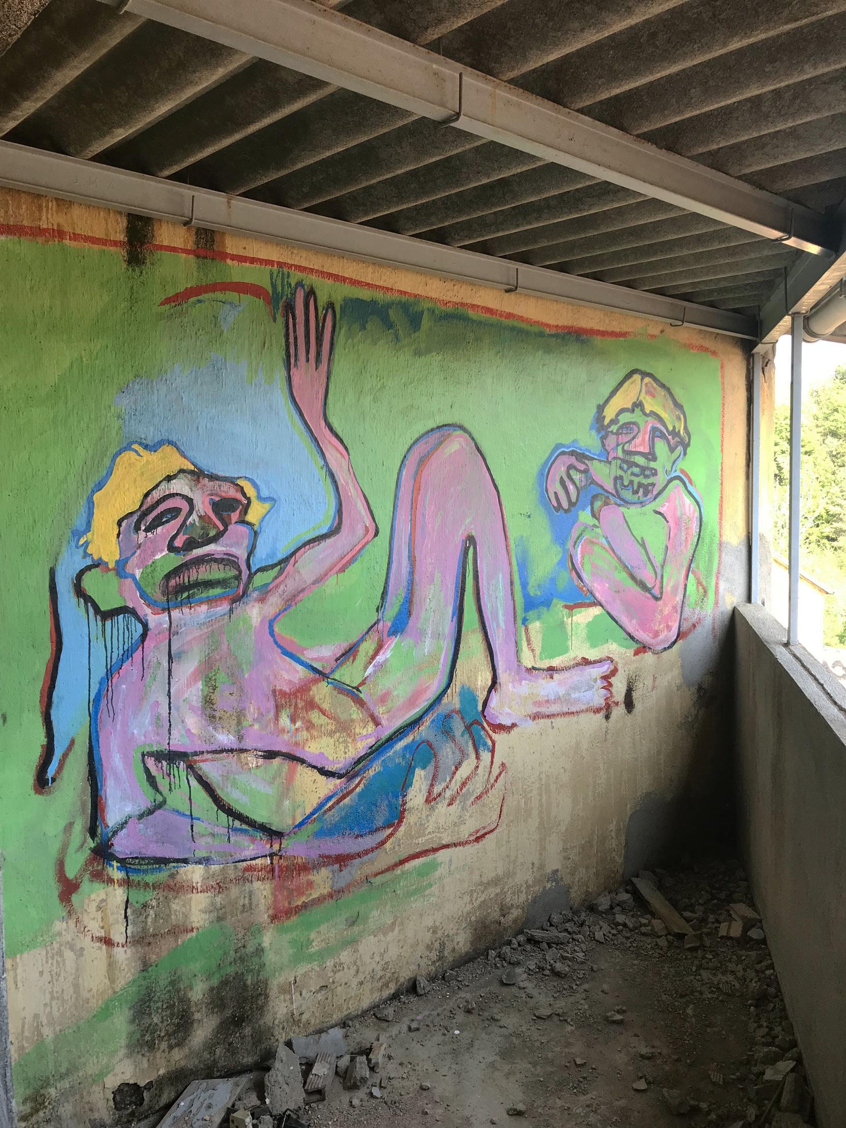 arte urbano Isabel Rabassa