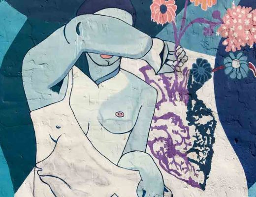 Arte urbano Laura Gonballes exposición de arte