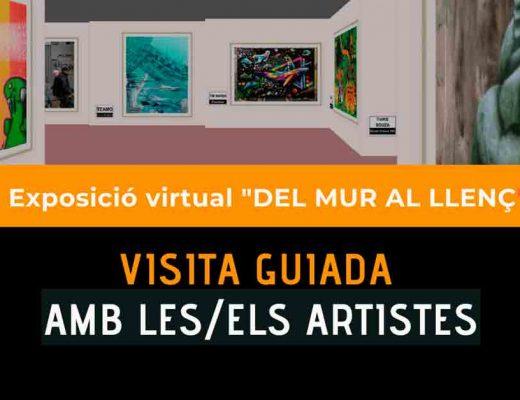arte urbano visita guiada exposición Del Mur al Llenç