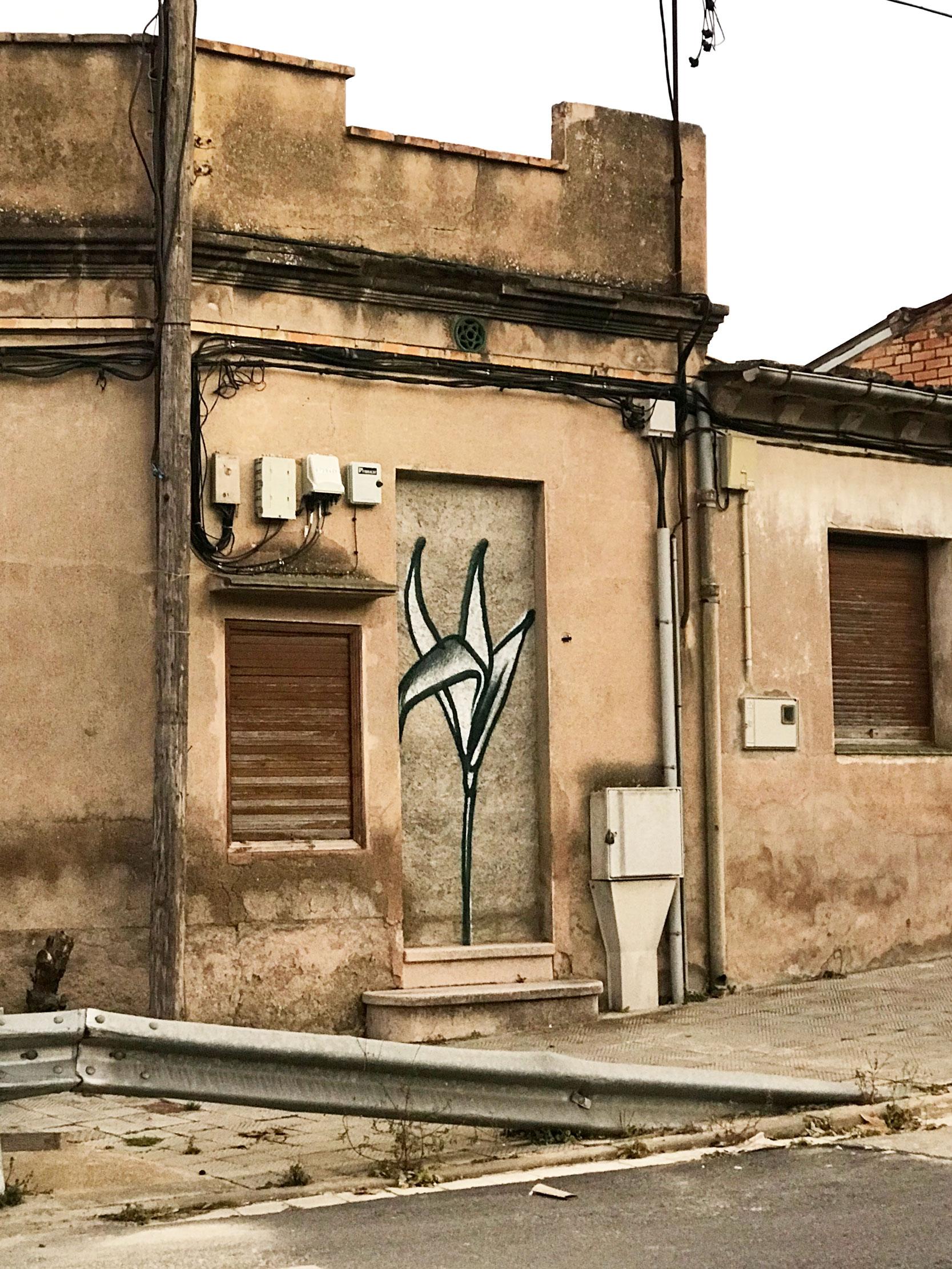 """Arte urbano de Werens Exposición Colectiva Virtual """"Del Mur al Llenç"""""""