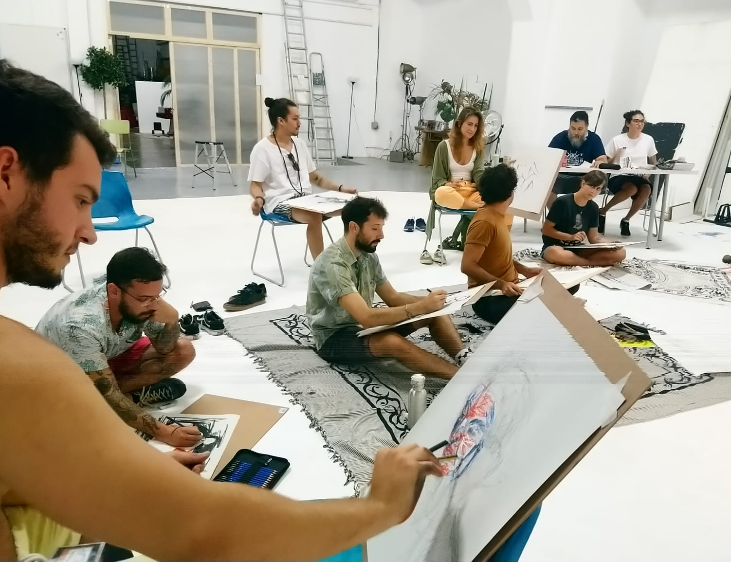 arte urbano Isa Rabassa clases de arte