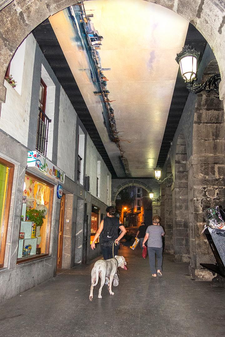 Arte urbano en Orduña Biskaia País Vasco