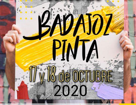 arte urbano pinta Badajoz 2020