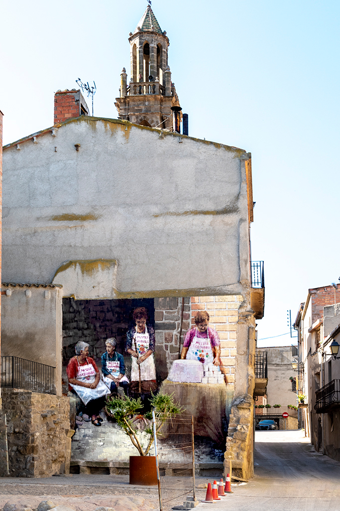 arte urbano Slim Montgai