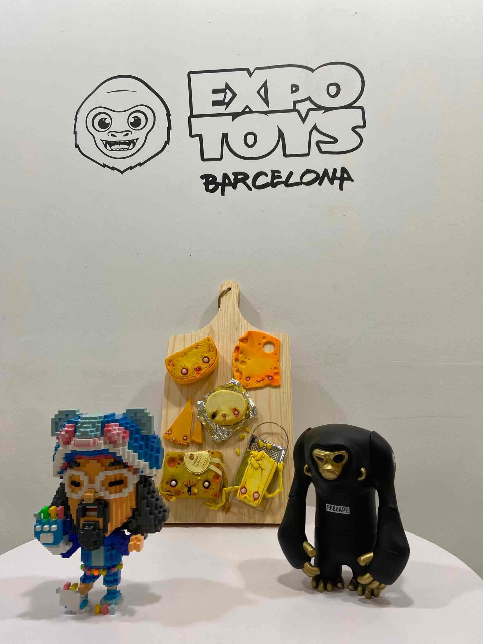 arte urbano expotoys 2020 Barcelona
