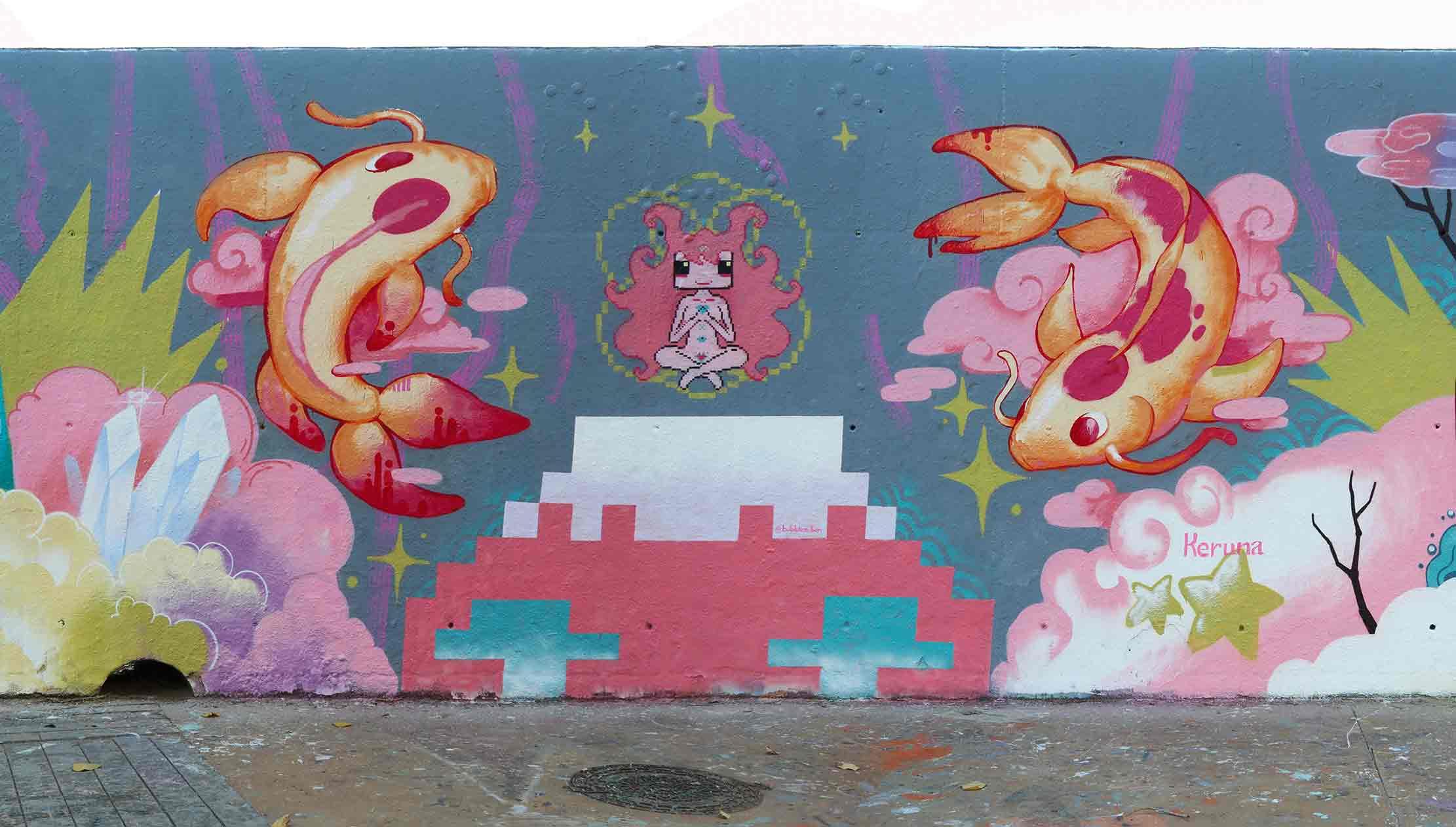 Arte urbano Kronos Art Barcelona