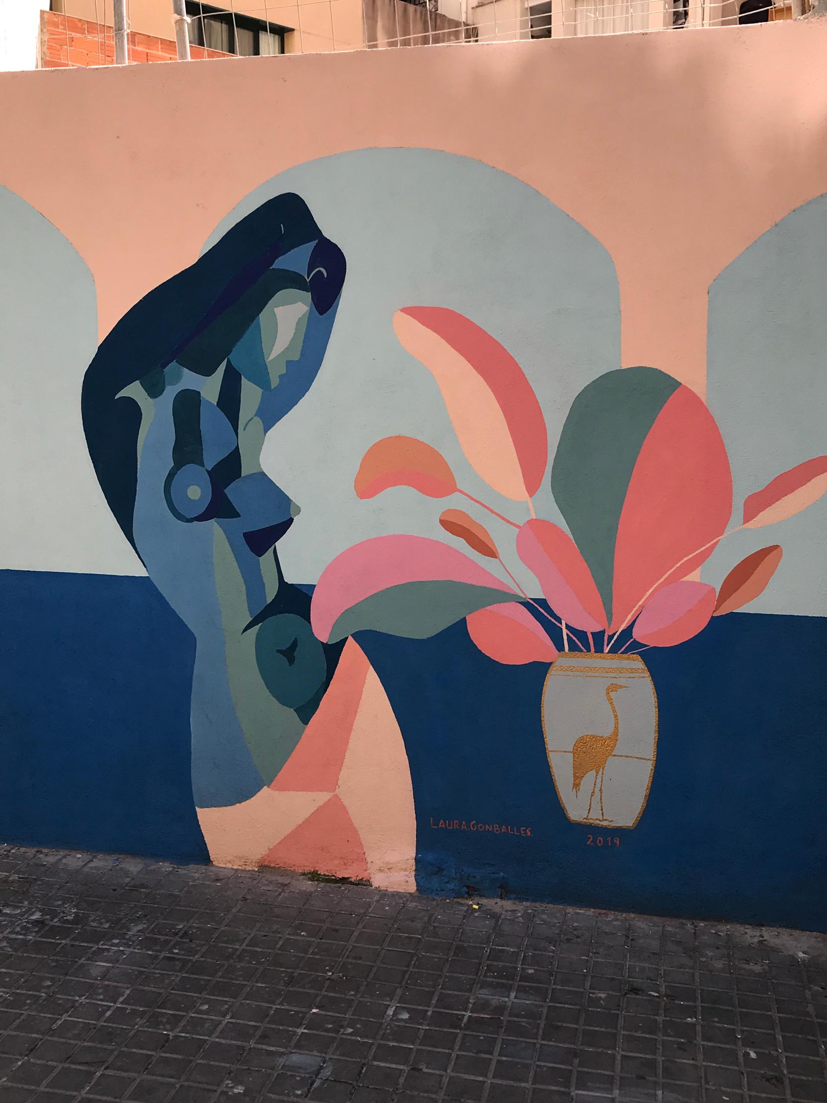 arte urbano Laura Gonballes Barcelona