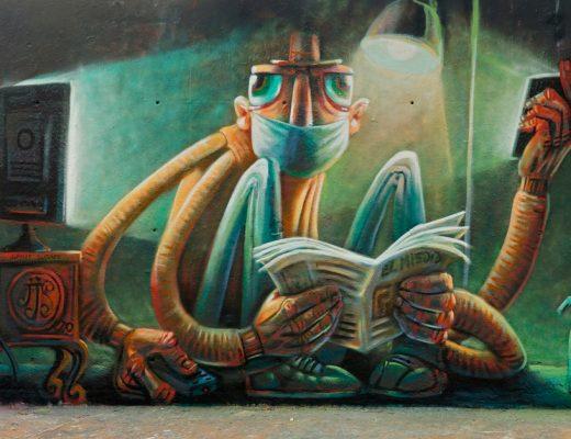 arte urbano tres chimeneas barcelona